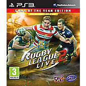Rugby League Live 2 Game Of The Year - PS3