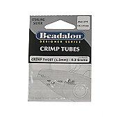 Beadalon Crimptwist 1.3mm Strlng 0.3G