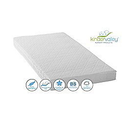 Kinder Valley Deluxe Spring Cot bed Mattress, 140x70cm