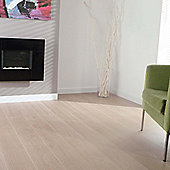 Westco 8mm V-Groove Waveless Oak White Laminate Flooring