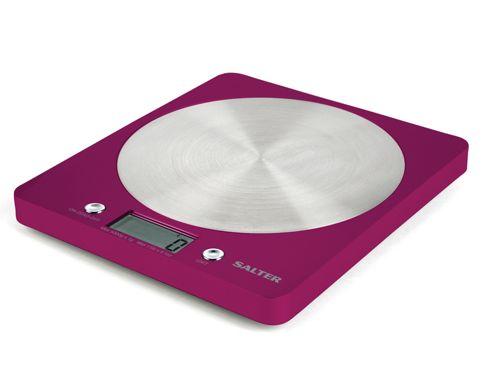 Salter 1046Pkdr Electronic Kitchen Scales Fushia