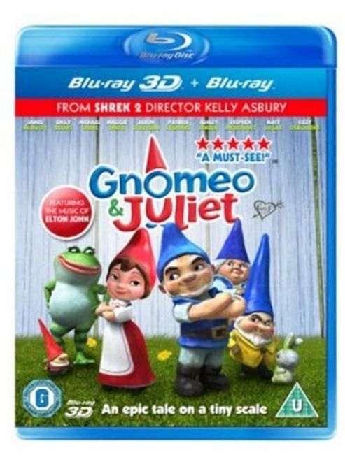 Gnomeo And Juliet (3D Blu-Ray)