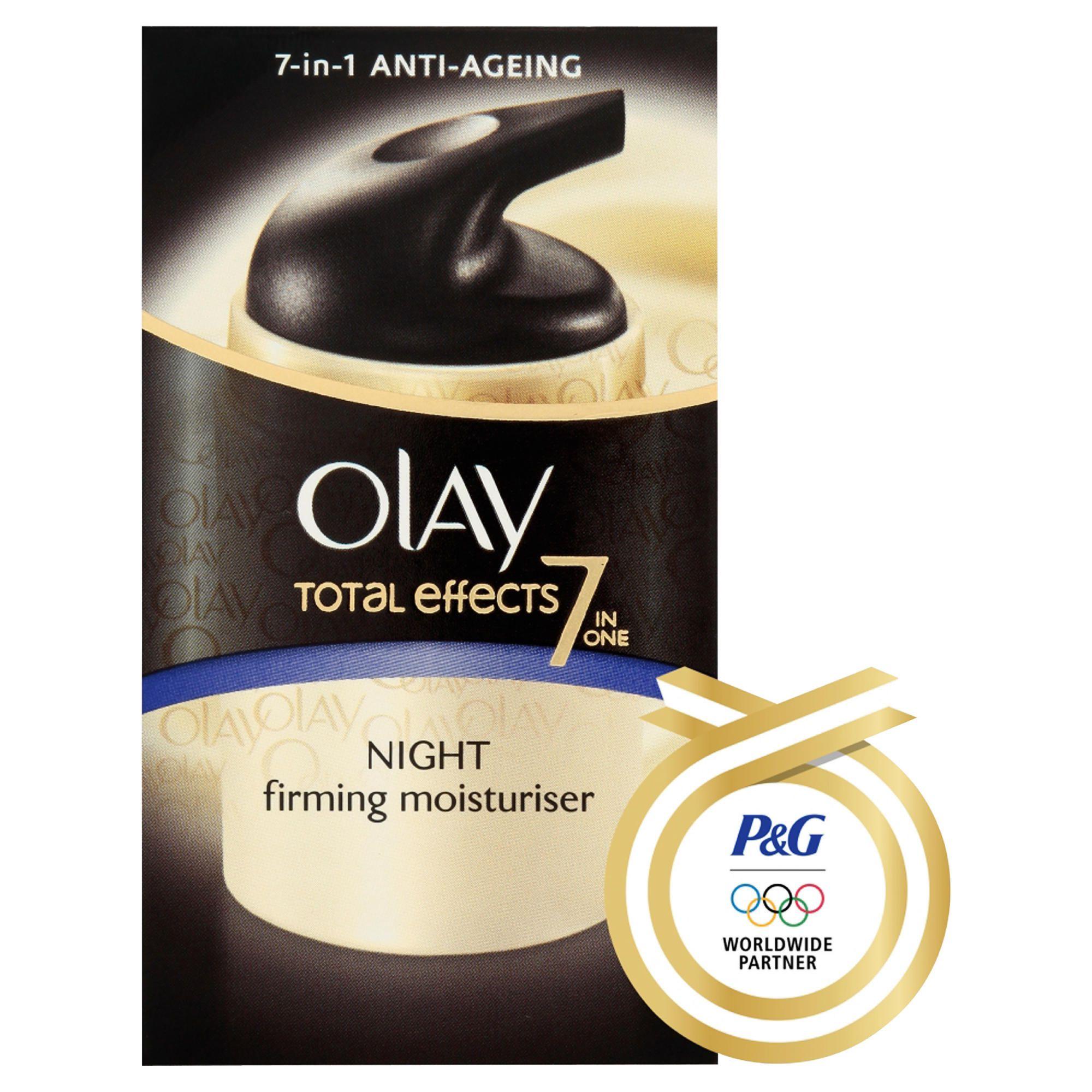 how to use olay night cream