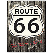 Red Hot Lemon Route 66 Wall Art