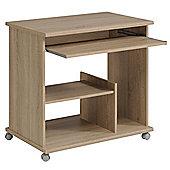 Parisot Compact Computer Desk - Rough Oak