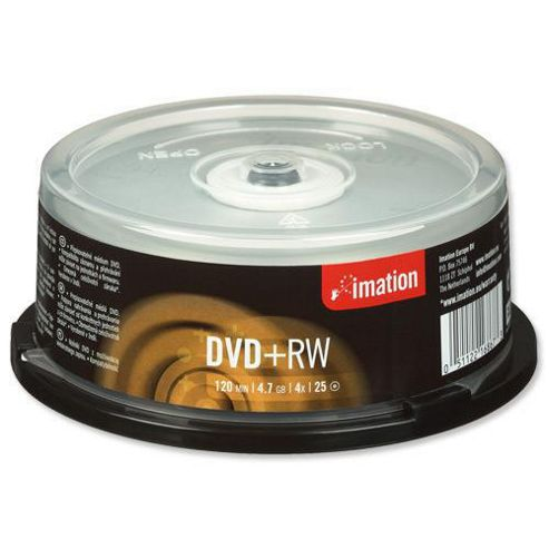 Imation DVD+RW 4.7GB 4x 25-Pack Spindle