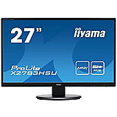 Iiyama ProLite X2783HSU (27 inch) LED Backlit LCD Monitor (Black)