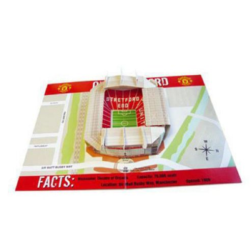RetailZone Manchester United F.C. Pop-Up Birthday Card