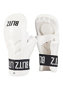 Blitz - Dipped Foam Tag - White