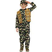 Army Boy - Child Costume 4-5 years