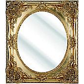 D & J Simons Dutch Mirror - Gold - 111cm H x 80.5cm W