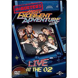 McBusted Most Excellent Adventure tour
