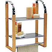 Techstyle Two Tier Metal Wall Storage Shelves