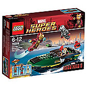 LEGO Super Heroes Iron Man: Extremis Sea Port Battle 76006