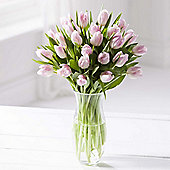 Simply Tulips Pink Bouquet
