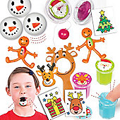 Christmas Stocking Fillers Super Value Pack (59 pieces) for Children - Fun Toy Set for Kids to Give for Xmas. Save 25% When Bought Together!