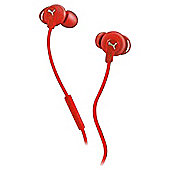 Puma Sport Buds In-Ear Headphones - Red