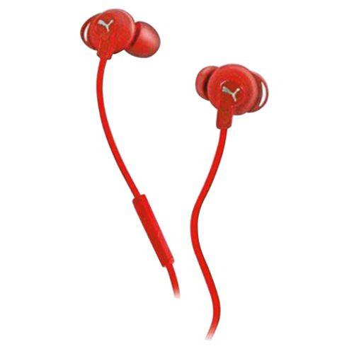 Puma Sport Buds In-Ear Headphones - Red