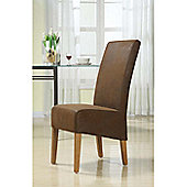 Hawkshead Milan Leather Dining Chair