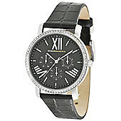 BCBG Luminaire Ladies Crystal Set Multi-Functional Watch - BG6411