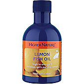Higher Nature Lemon Fish Oil 200ml Oil