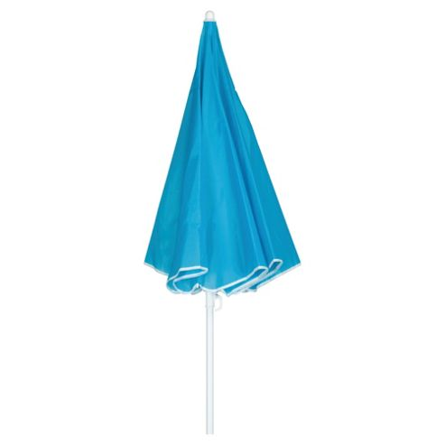 Tesco Beach Parasol - Blue