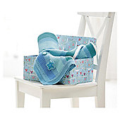 Clair De Lune Pram Blanket Pick N Mix Blue