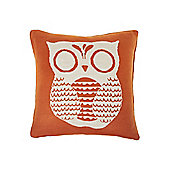 Linea Owl Knitted Cushion