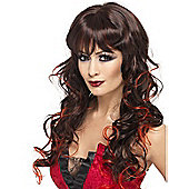 Adult Vixen Wig Blk and Red