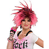 Bubble Gum Punk Wig