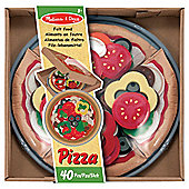 Melissa  Doug Felt Food Pizza Set