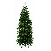 210 cm Slim Christmas Pine Tree - Green
