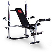 E-Range 2.1 Weight Bench with Chest Fly