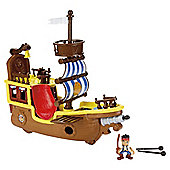 Fisher-Price Disney Jake And The Neverland Pirates- Pirate Adventure Bucky
