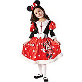 Minnie Mouse Winter Wonderland - Child Costume 5-6 years