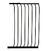 Dreambaby Extra Tall Swing Closed Stair Gate Black Extension 63cm