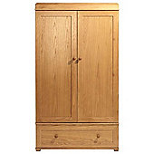 East Coast Langham Oak Wardrobe