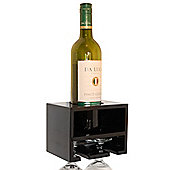 Techstyle Wall Wine Rack - Black