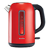 Breville VKJ864 Colour Collection 3kW Jug Kettle with 1.7L Capacity in Red