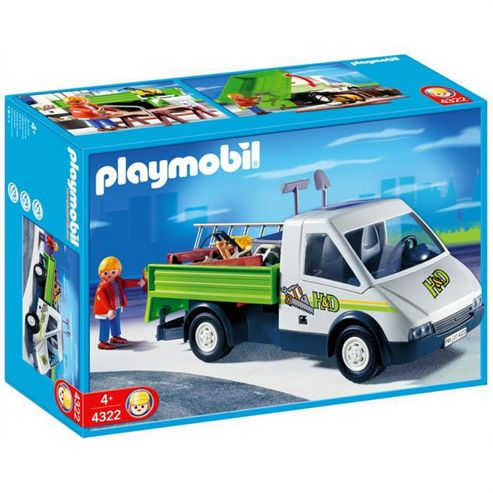 Van playmobil - Playmobil camion chantier ...
