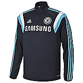 2014-15 Chelsea Adidas Training Top (Dark Marine) - Navy