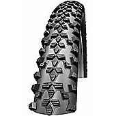 Schwalbe Smart Sam Performance Dual Compound Rigid Tyre in Black - 24 x 2.10 Black