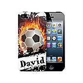 Personalised Football iPhone 5 Case Phone Protector