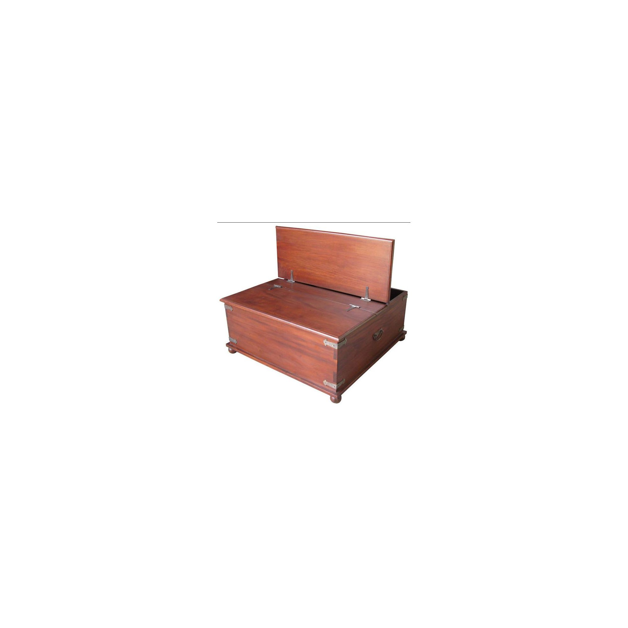 Lock stock and barrel Mahogany Vintage Trunk Table in Mahogany at Tesco Direct