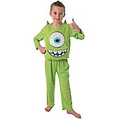 Child Monsters University Deluxe Mike Costume Large