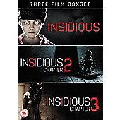 Insidious Triple Pack DVD