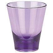Spirella Max-Light Acrylic Tooth Mug Tumbler - Violet