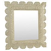 Papa Theo Frascati Mirror - Antique White