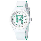 Reebok Icon Ladies Silicone Stone Set Watch RC-IDB-L2-PWIW-WT