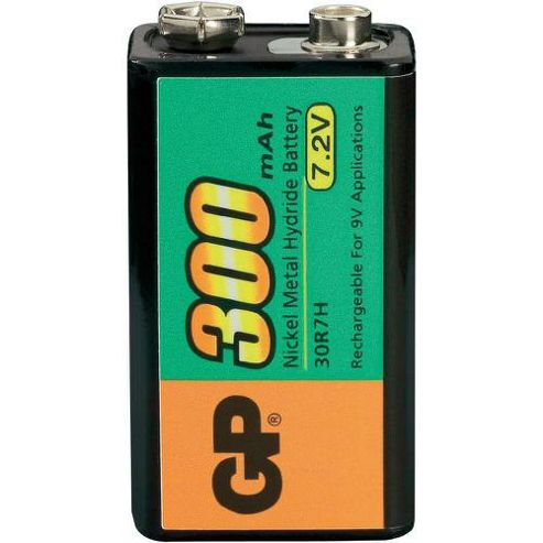 GP Rechargeable 9V battery